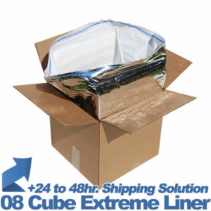 08 Cube Insulated Shipping liner