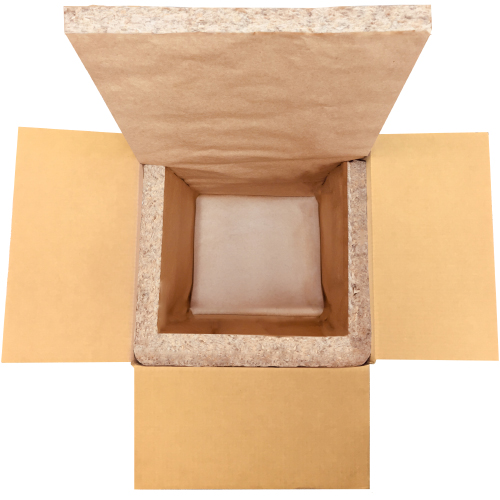 Curbside Recyclable 2-Piece Box Liner from Coldkeepers
