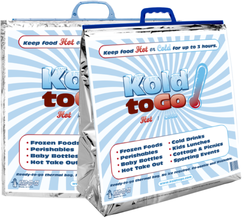 Coldkeepers products: Kold-To-Go Generic Thermal Bags